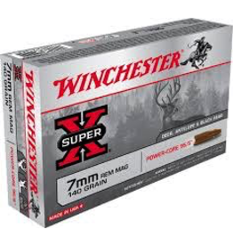WINCHESTER WINCHESTER 7MM REM MAG 140GR EXTREME POINT 20 RDS