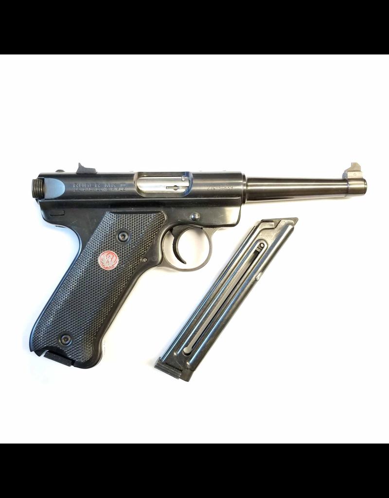 USED RUGER MARK III 22LR