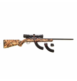 USED SAVAGE A22 22LR AF W/ EXTRA MAGS