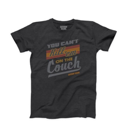 CATCHIN' DEERS CATCHIN' DEERS CAN'T KILL 'EM ON THE COUCH TEE