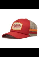 CATCHIN' DEERS CATCHIN' DEERS DASHBOARD RED W/ STRIPE HAT