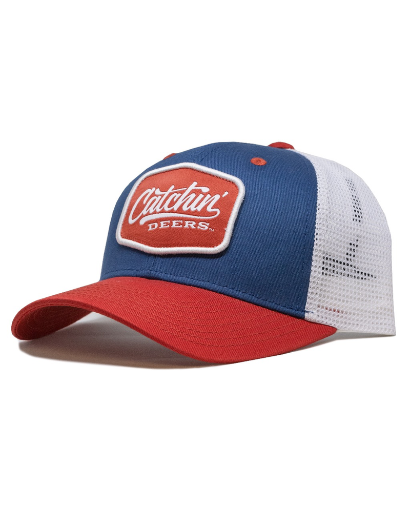 CATCHIN' DEERS CATCHIN' DEERS DASHBOARD PATRIOT HAT