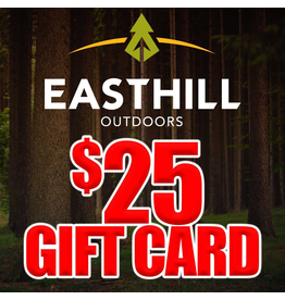 EASTHILL OUTDOORS EASTHILL OUTDOORS $25 GIFT CARD