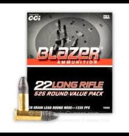 CCI CCI BLAZER 22 LONG RIFLE 525 ROUND 38 GR