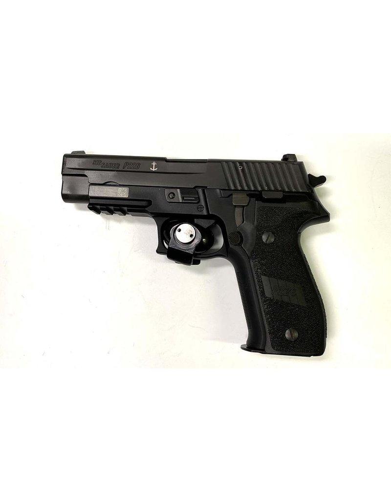 USED SIG SAUER P226R NAVY MARK 25 9MM