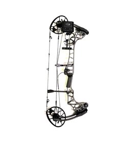 "MATHEWS MATHEWS TRIAX RH 50# 29"" STONE GREY QAD QUIVER"