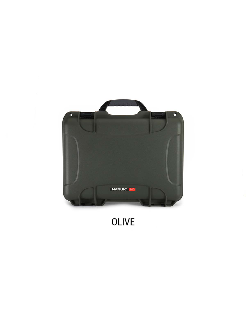 PLASTICASE PLASTICASE NANUK CASE W/ <br /> FOAM OLIVE