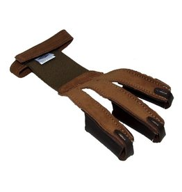 NEET NEET PULL ADJUST TAN SUEDE SHOOTING GLOVE SMALL