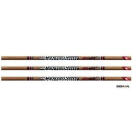 "EASTON EASTON ARROWS CENTERSHOT 500 4"" FEATHERS 6PK"