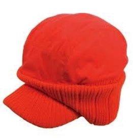 BACKWOODS FLUORESCENT ORANGE CAP EAR WARMER