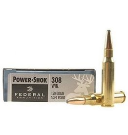 FEDERAL FEDERAL 308 WIN 150 GR HI-SHOK SP