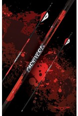 BLACK EAGLE BLACK EAGLE CARNIVORE FLETCHED ARROWS  -.001 400