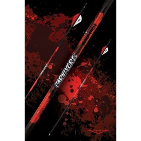 BLACK EAGLE BLACK EAGLE CARNIVORE FLETCHED ARROWS  -.001 250