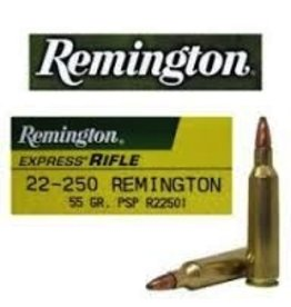 REMINGTON REMINGTON 22-250 55 GR PSP 20 RDS