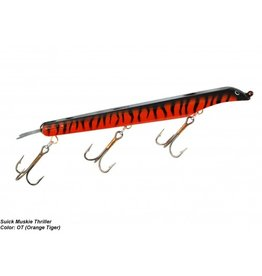 "SUICK SUICK 9"" THRILLER ORANGE TIGER"