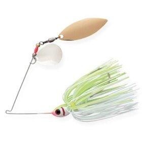 BOOYAH BOOYAH BLADE 1/2OZ CHARTREUSE PEARL WHITE/ WHITE CHARTREUSE