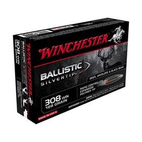 WINCHESTER WINCHESTER 308 WIN 150GR BALLISTIC SILVERTIP
