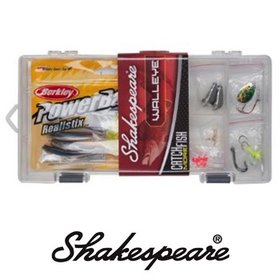 SHAKESPEARE SHAKESPEARE WALLEYE TACKLE  BOX KIT
