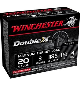 "WINCHESTER WINCHESTER 20 GA 3"" 1.25 OZ #4 MAG TURKEY LOAD SHELLS"