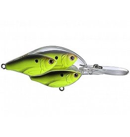 "KOPPERS KOPPERS LIVE TARGET 2.75"" THREADFIN SHAD DEEP CHART/ BLACK"