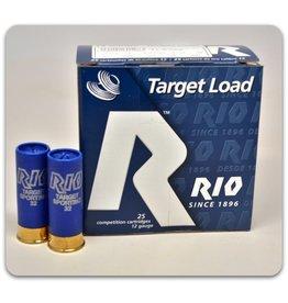 "RIO RIO TARGET LOAD 12 GA 2 3/4"" 7.5"" SHOT 1-1/8 OZ SPORTING SHELL"