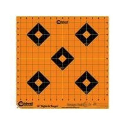 CALDWELL CALDWELL ORANGE PEEL SIGHT-IN TARGET 12""