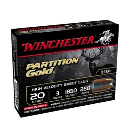 "WINCHESTER WINCHESTER PARTITION GOLD 20 GAUGE 3"" SABOT"