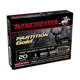 "WINCHESTER WINCHESTER PARTITION GOLD 20 GAUGE 3"" SABOT"