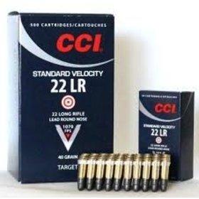 CCI CCI 22LR STD VELOCITY AMMO LEAD ROUND NOSE