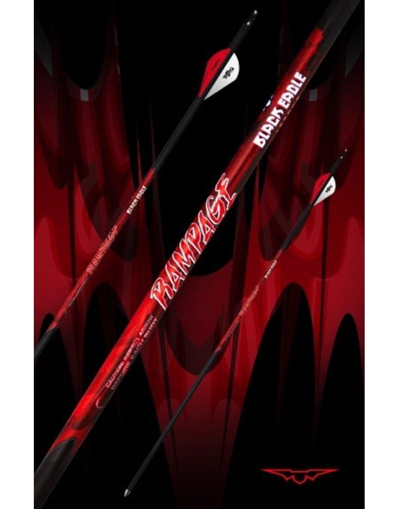 """BLACK EAGLE BLACK EAGLE RAMPAGE FLETCHED ARROWS 003"""" 400"""