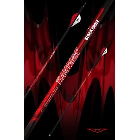 "BLACK EAGLE BLACK EAGLE RAMPAGE FLETCHED ARROWS 003"" 350"