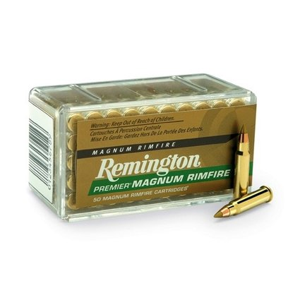 REMINGTON REMINGTON PREMIER MAGNUM RIMFIRE 17 HMR 17GR 50 RDS
