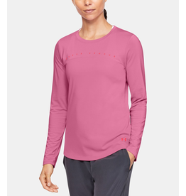 UNDER ARMOUR UNDER ARMOUR WOMEN'S ISO-CHILL SHORE BREAK LS