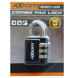 KEYSTONE AXIOM 30MM 3 DIAL LUGGAGE LOCK