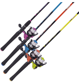 ZEBCO ZEBCO SPLASH 4 602 ML MEDIUM SPINCAST ROD AND REEL COMBO ASSORTED COLORS