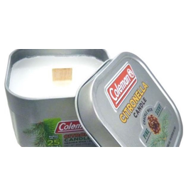 COLEMAN COLEMAN 25 HOUR PINE SCENT SCENTED TIN CANDLE