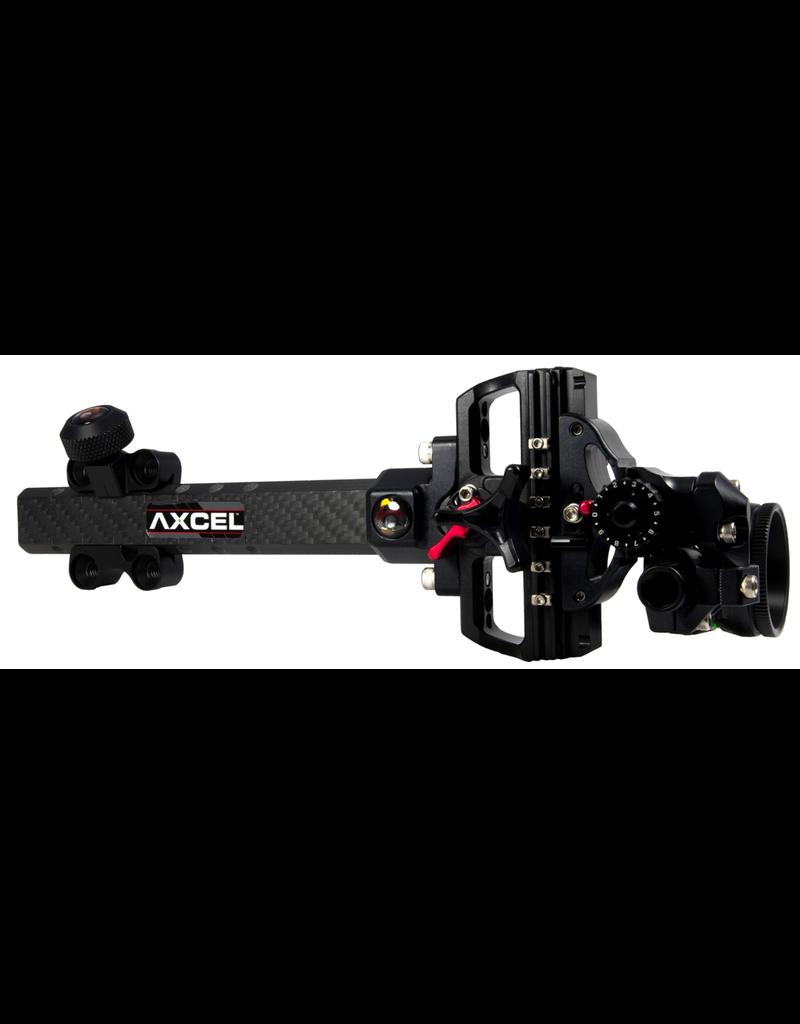 AXCEL ACCUTOUCH PLUS CARBON PRO-AV-41 1 PIN .019 GREEN FIBRE BLACK SIGHT