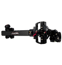 AXCEL ACCUTOUCH PLUS CARBON PRO-AV-41 1 PIN .010 GREEN FIBRE BLACK SIGHT