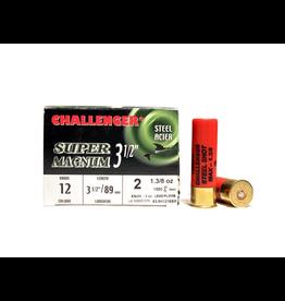 "CHALLENGER CHALLENGER 12GA 3.5"" SUPER MAG #2 STEEL 1 3/8OZ"