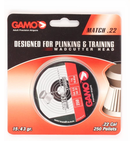 GAMO GAMO MATCH PELLETS 22 CAL 250 COUNT