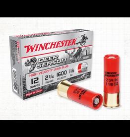 """WINCHESTER WINCHESTER 12GA 2.75"""" 1 1/8 oz SLUG 5 RDS"""