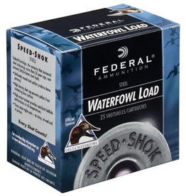 "FEDERAL FEDERAL WATERFOWL LOAD 12GA 3"" 1 1/4OZ BBB"