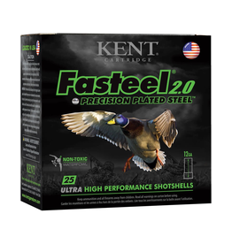"KENT CARTRIDGE KENT CARTRIDGE FASTEEL 2.0 3"" 12GA 1 1/4 BB SHOT"