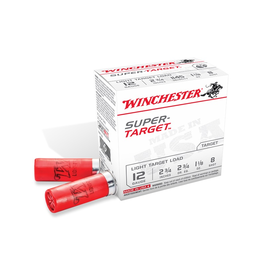 "WINCHESTER WINCHESTER SUPER TARGET 12 GA 2 3/4"" #8 250 ROUNDS"