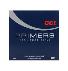 CCI CCI #200 LARGE RIFLE PRIMERS 100PK
