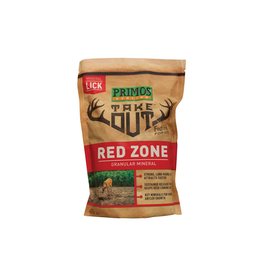 PRIMOS PRIMOS TAKE OUT RED ZONE GRANULAR MINERAL 4.5 LBS