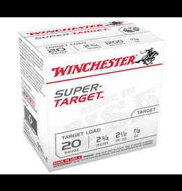 "WINCHESTER WINCHESTER 20GA 2 3/4"" SHOTSHELLS #8 250 ROUNDS"