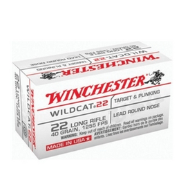 WINCHESTER WINCHESTER WILDCAT 22LR 40GR 500 ROUNDS