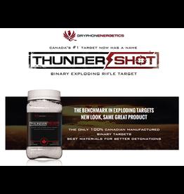 GRYPHON ENERGETICS THUNDER SHOT EXPLODING RIFLE TARGET 1 LB