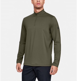 UNDER ARMOUR UNDER ARMOUR LONG SLEEVE TACTICAL 1/4 ZIP GREEN